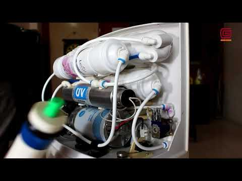 How to change RO Water purifier membrane filter!