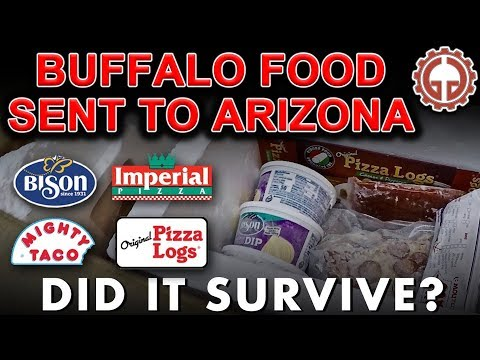 Buffalo Food Shipped To Phoenix. Imperial Pizza Is The Best!!