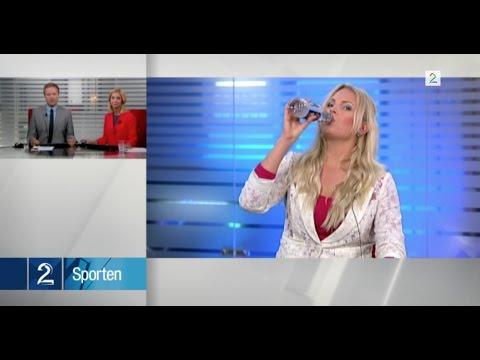 Her går det galt på direkten på TV 2 Nyhetskanalen
