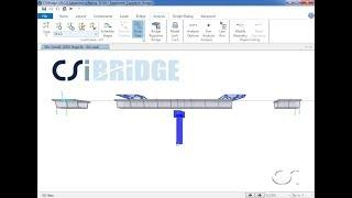 CSiBridge - 12 Segmental Balanced-Cantilever Bridge: Watch & Learn