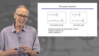 Introducton to Thermoelectricity L1.1: Theory - Introduction