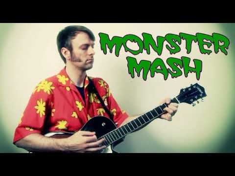 Monster Mash Guitar Chords Lesson with Tab