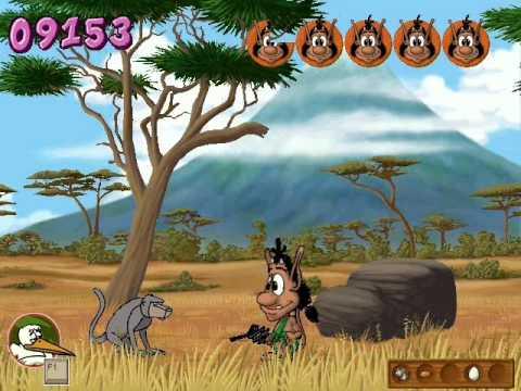 кузя в африке скачать игру