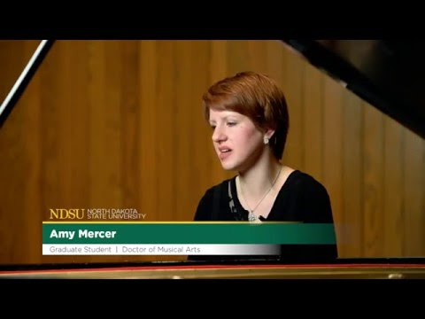 Amy Mercer, Doctor of Musical Arts student, NDSU Challey School of Music
