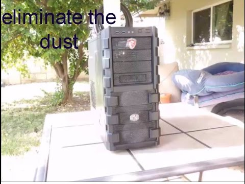 Cleaning the dust from your computer