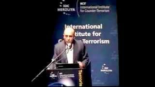 M.K. Lt. Gen (Ret.) Shaul Mofaz - World Summit on Counter-Terrorism, ICT, IDC 2012