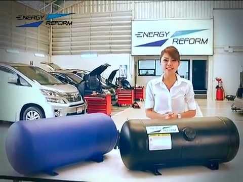 ติดแก๊ส NISSAN ALMERA by ENERGY REFORM