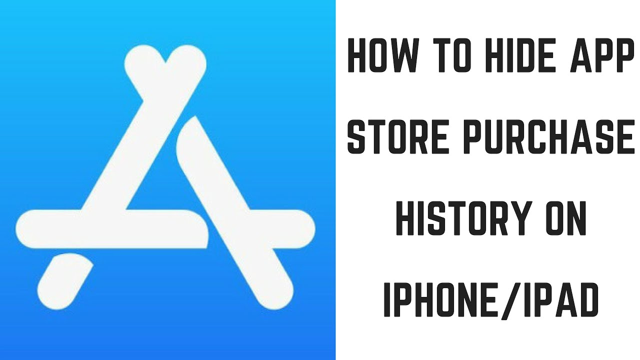 How to Hide App Store Purchase History on iPhone or iPad