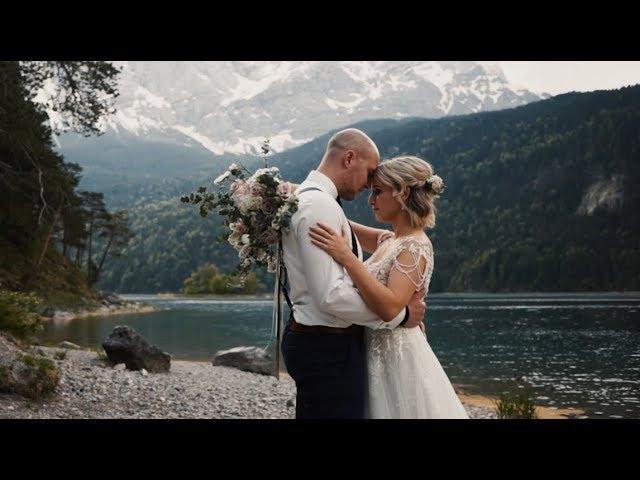 JULIA & CHRISTIAN | Elopement at Lake Eibsee Germany