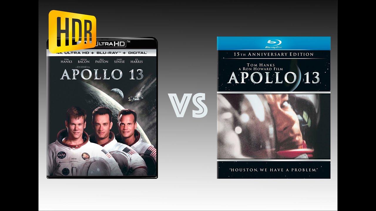 Download ▶ Comparison of Apollo 13 4K (4K DI) HDR10 vs Regular Version