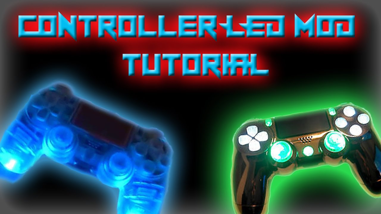 Ps4 Controller Led Mod And Rapid Fire Installation Tutorial Wiring Diagram