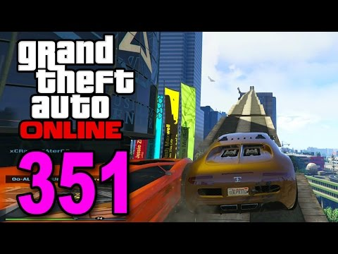 Grand Theft Auto 5 Multiplayer - Part 351 - Jumping and Racing (GTA Online Gameplay)