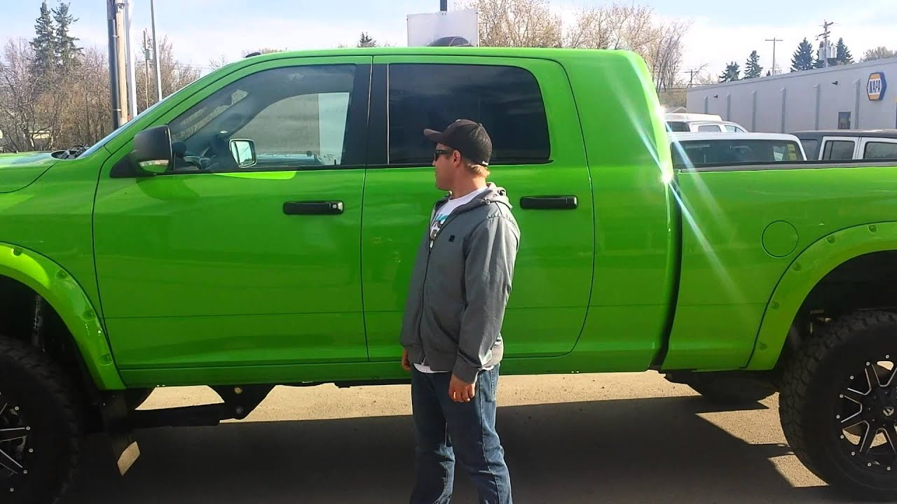 Jesse Hinz 2014 Ram 2500 Mc 4wd Slt Dsl Green Machine