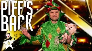 Piff The Magic Dragon Gets Heidi Klum To Feed Mr Piffles Her Ring!