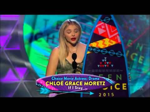 Chloë Grace Moretz - Choice Drama Movie Actress Winner - Teen Choice Awards 2015