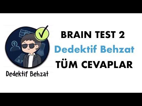 Brain Test 2: Dedektif Behzat 1-20 Tüm Seviye Çözümleri (Android, iOs)