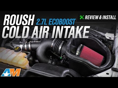 2015-2017 F-150 Roush Cold Air Intake (2.7L EcoBoost) Review & Install