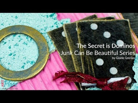 The Secret is Dominos - 4x4 Junk Can Be Beautiful Series