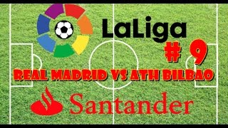 Fifa 17 | Liga Real Madrid VS Ath Bilbao jornada 9 ps4