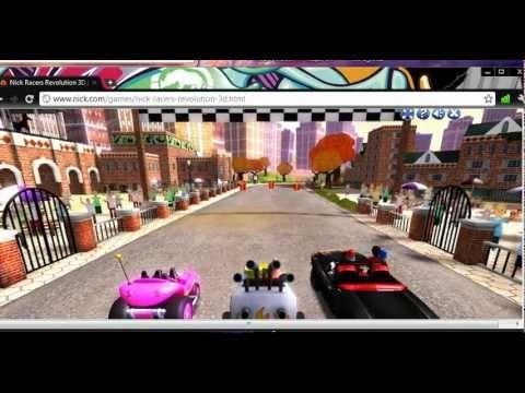 nick racers revolution 3d youtube. Black Bedroom Furniture Sets. Home Design Ideas
