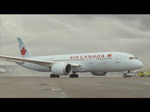 Air Canada Inaugural BNE Service