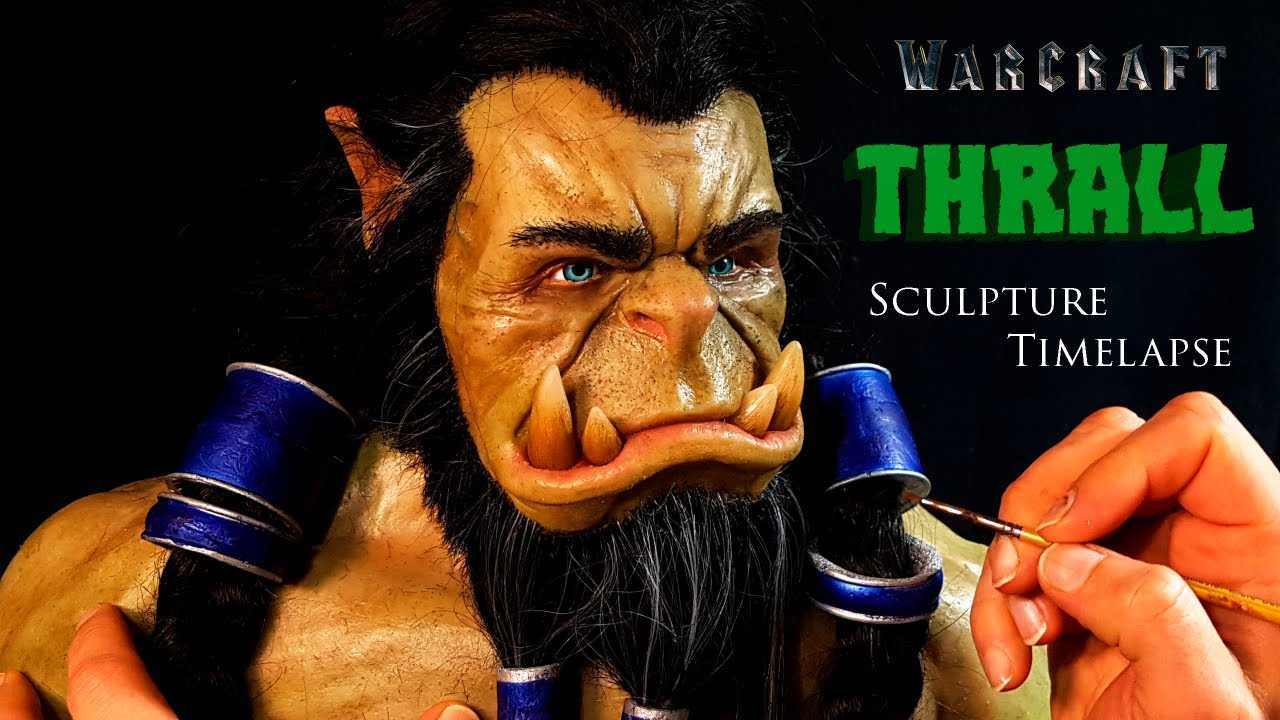 Thrall Sculpture Timelapse - World of Warcraft