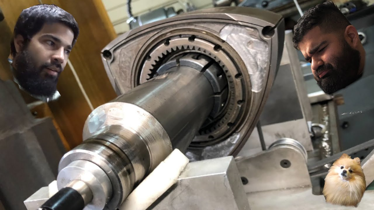 Rotary Science Saves Hert's TwerkStallion Engine ( Lots Of Machining )