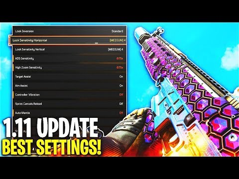 *NEW* BEST SETTINGS AFTER COD BO4 1.11 UPDATE! - BEST SETTINGS AFTER UPDATE! (BEST SETTINGS COD BO4)