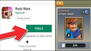 RUSH WARS ÇIKTI! NASIL İNDİRİLİR ve OYNANIR? Supercell'in Yeni Oyunu