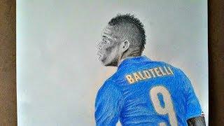 Mario Balotelli (Speed Drawing)