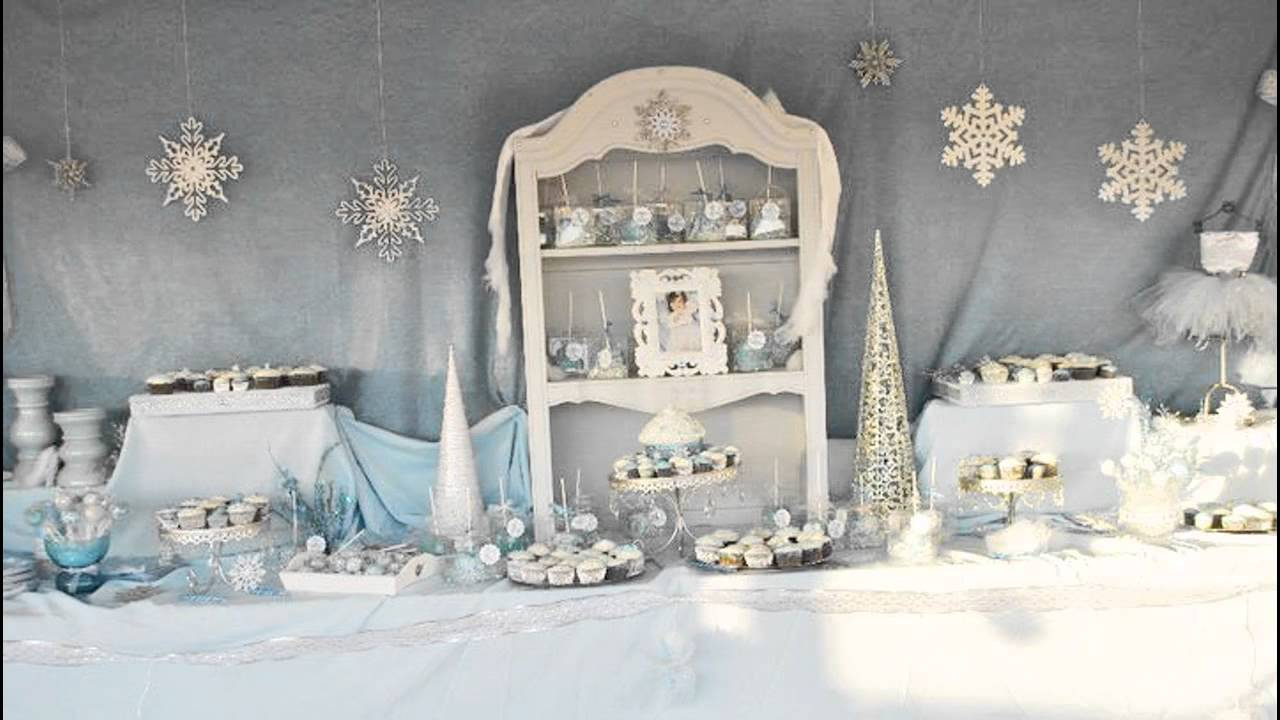 Stunning Winter Wonderland Birthday Party Ideas YouTube