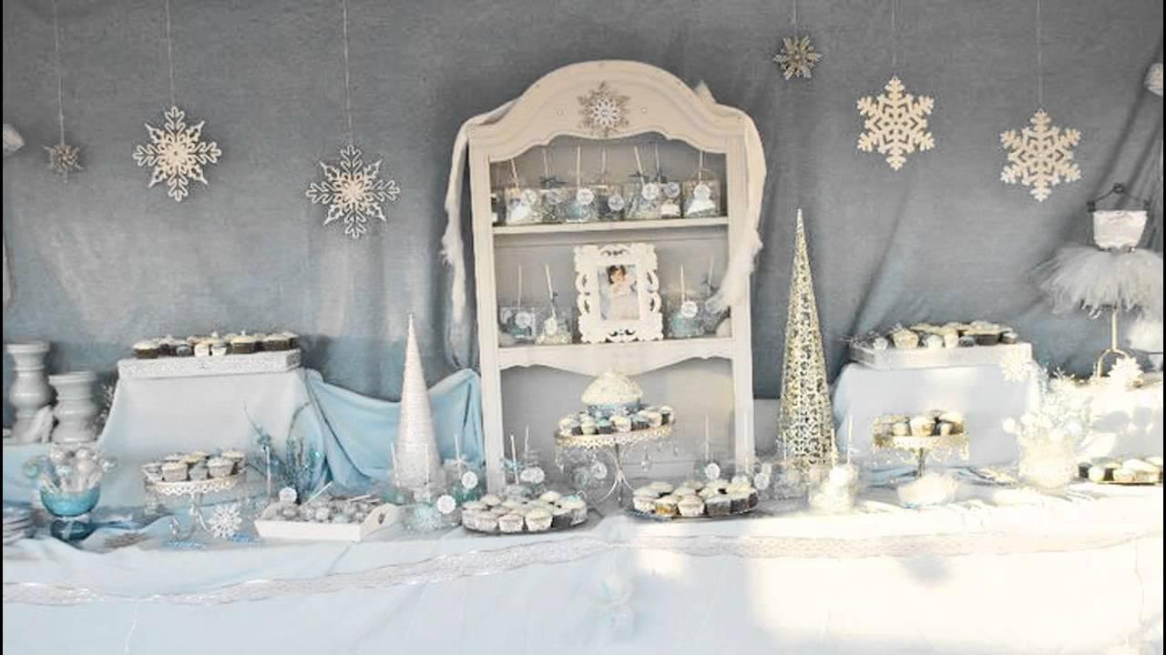 Exceptional Winter Wonderland Table Decoration Ideas Part - 3: Stunning Winter Wonderland Birthday Party Ideas Youtube. SaveEnlarge · Winter  Wonderland Birthday Party Ideas ...