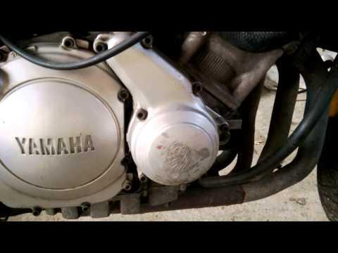 Yamaha fzr600 praca silnika po zimie