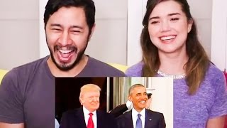 INAUGURATION DAY A BAD LIP READING | Reaction!
