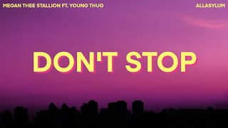 Play Don't Stop (feat. Young Thug)