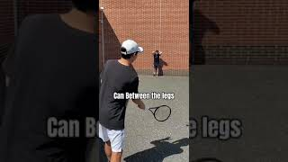 CRAZY Tennis Trickshot Compilation! - #Shorts