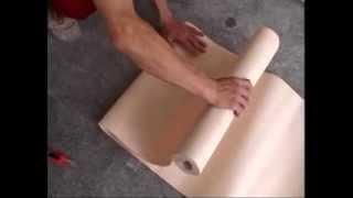 видео Как клеить обои под покраску: ход работы