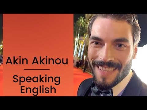 Akin Akinozu ❖ Speaking English  ❖ Hercai ❖  Mipcom  ❖  English ❖  2019