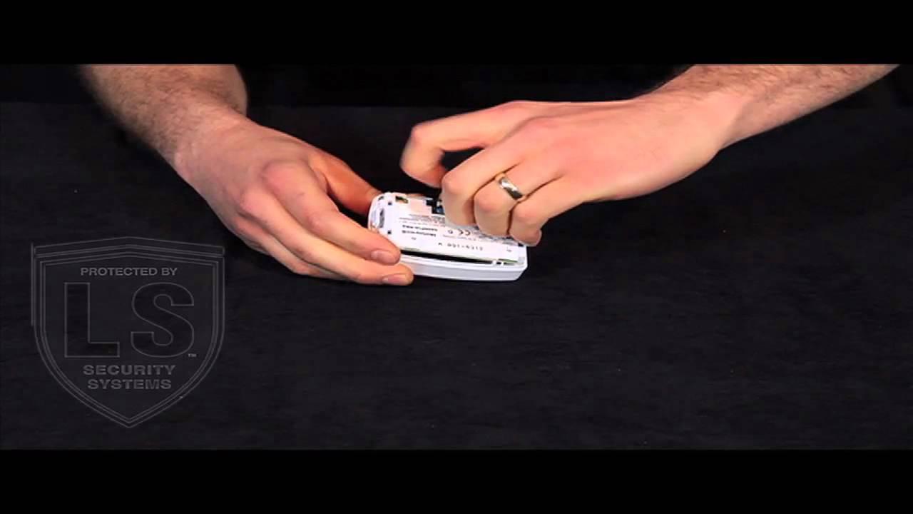 Honeywell Wireless Motion Sensor Battery Replacement