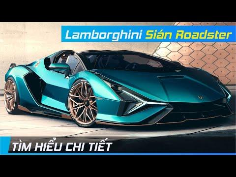 Chi tiết Sian Roadster | Siêu phẩm mui trần triệu đô, tinh hoa công nghệ Lamborghini | XE24h