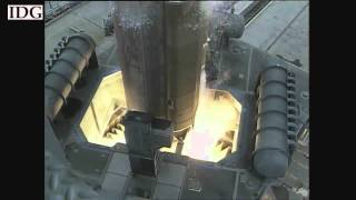 Raw video: Atlas launch of spy satellite