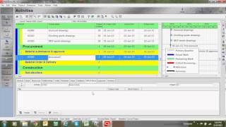 primavera tutorial - how to create activities