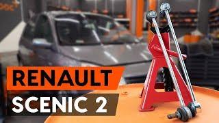 Como substituir a tirante da barra estabilizadora dianteira no RENAULT SCENIC 2 (JM)