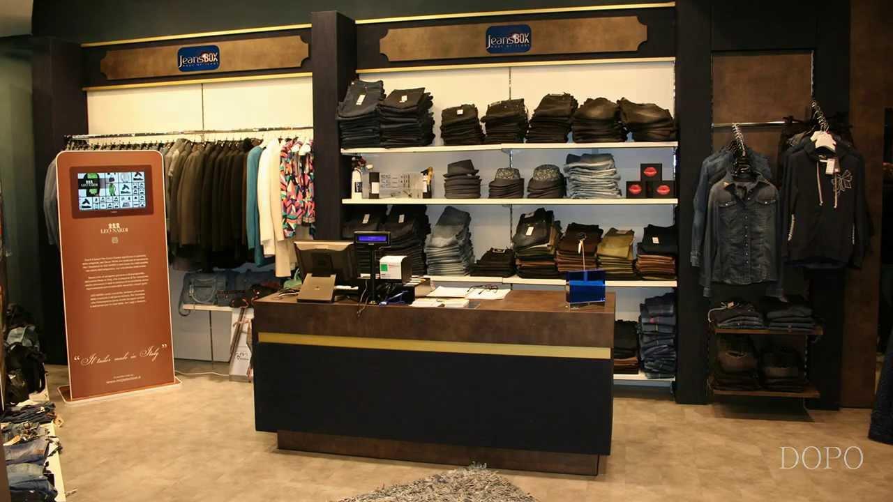 arredamento jeanseria abbigliamento jeans casual ekip arredamenti per negozi roma v2 youtube