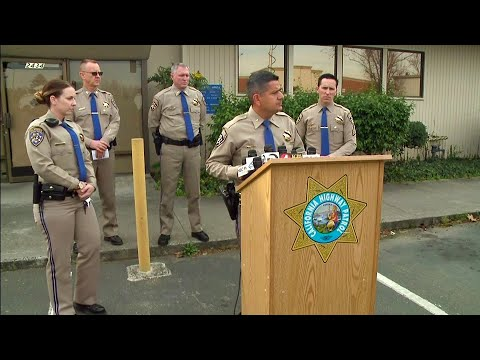 CHP News Conference Re: Officer Killed on I-880