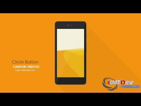 Xamarin Android Tutorial - Circle Button