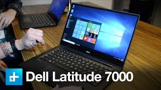 Dell Latitude 7000 - Hands on at CES 2016