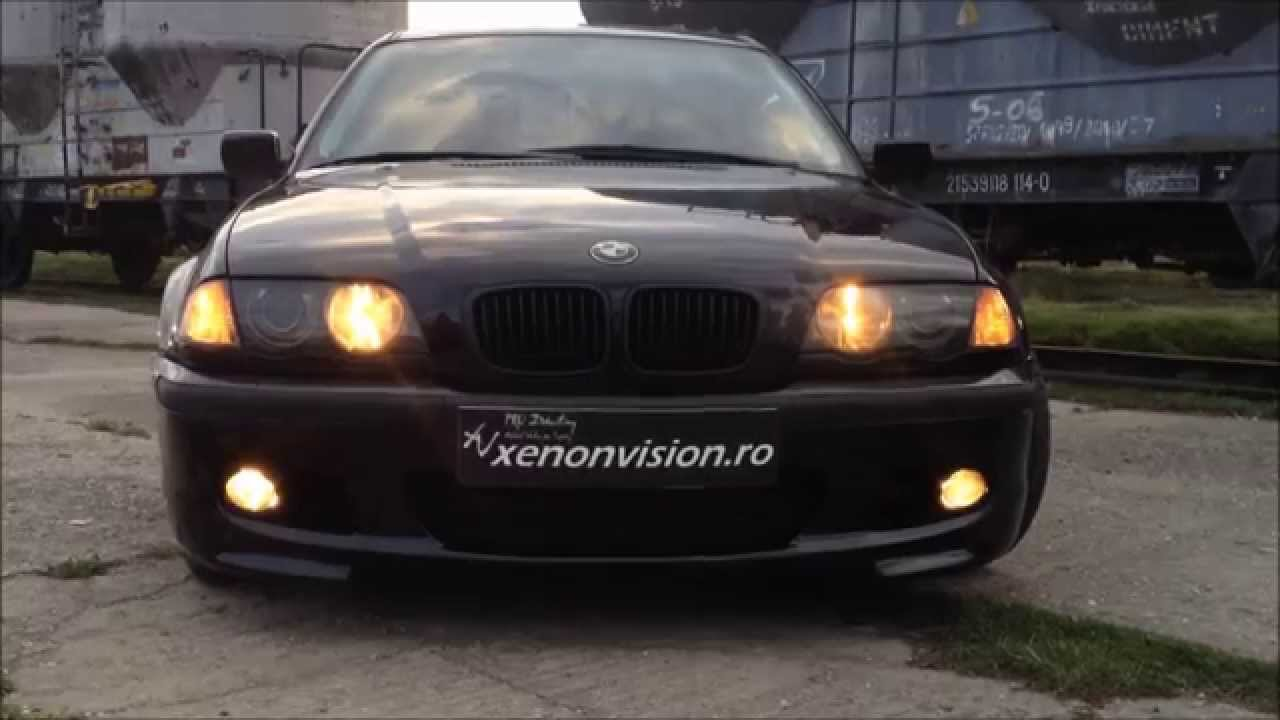 Bmw E46 Us Drl Youtube