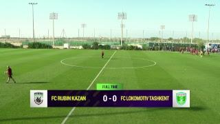 Rubin Kazan vs Lokomotiv Tashkent full match