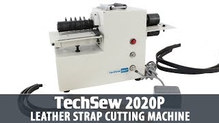 Techsew 2020P Portable Leather Strap Cutting Machine